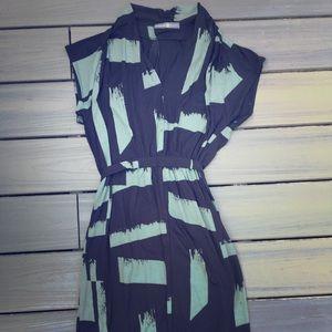 Avon Signature Collection Print Dress Sz XL